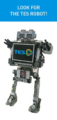 TES _ TES Exhibiting at Technology in Gov. robot