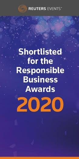 Responsible Business Awards 2020, 8 - 9 October, 2020