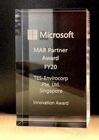 TES - Microsoft Approved Distributor Award