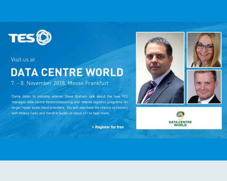 TES _ Data Centre World 2018
